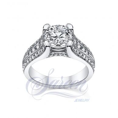 Classic Ladies Diamond Ring