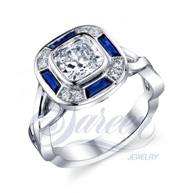 Sareen Irish Rose Ladies Diamond Ring