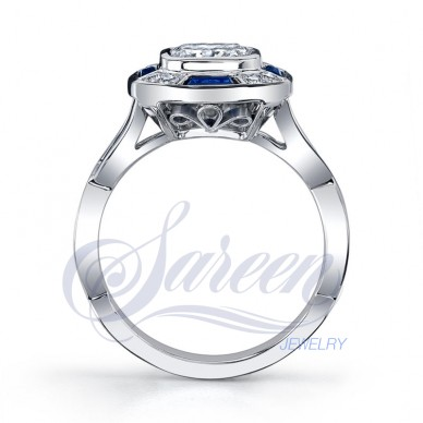 Sareen Irish Rose Ladies Diamond Ring