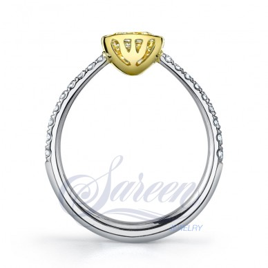 Luseen Bezel Collection Ladies Diamond Ring