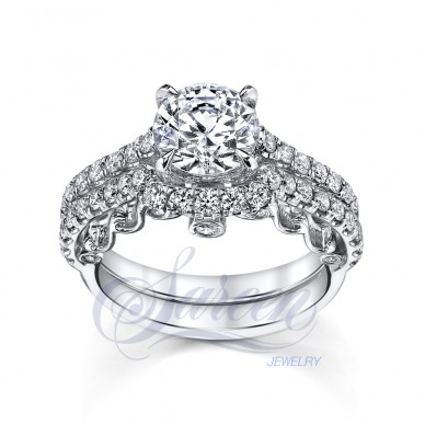 Sareen Iris Rose Ladies Diamond Ring