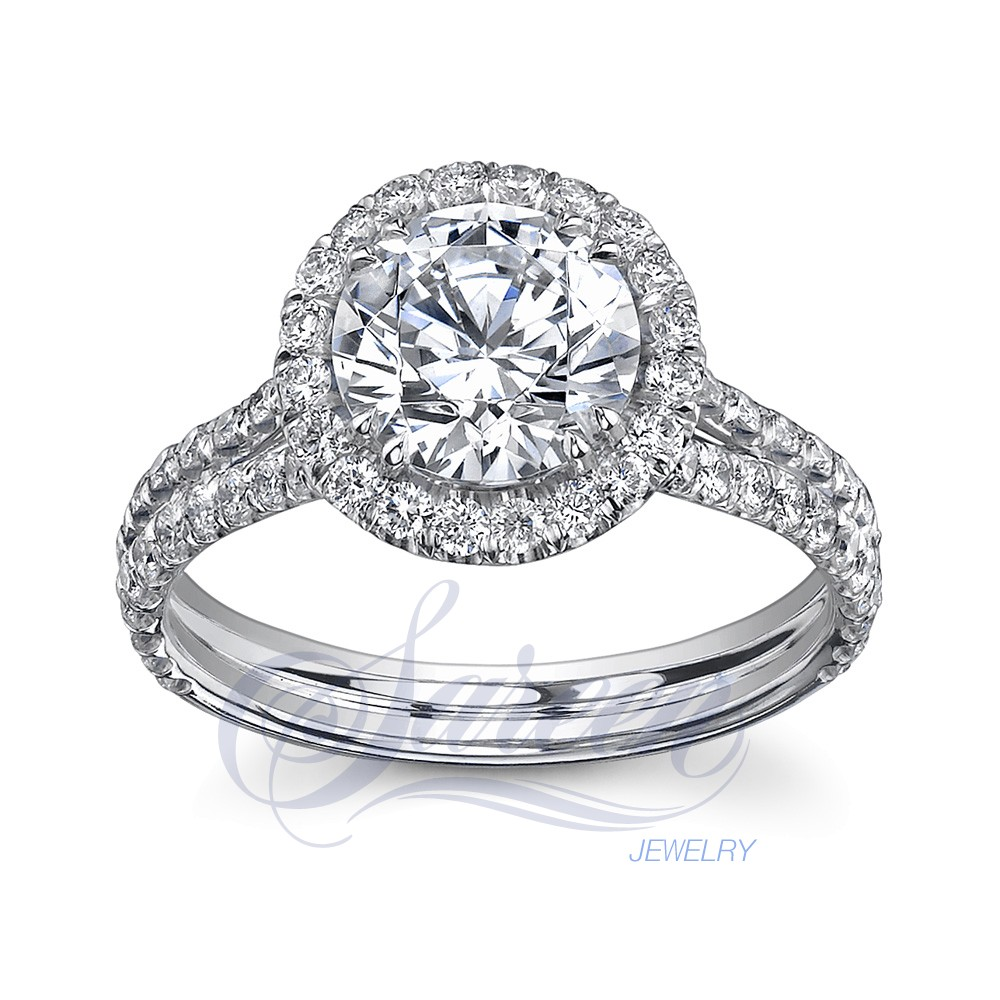 beautiful platinum pointer women the this with photo ring jl designer products shot rings depicts solitaire worn on pt hand showing for when finger dsc raised a how engagement looks