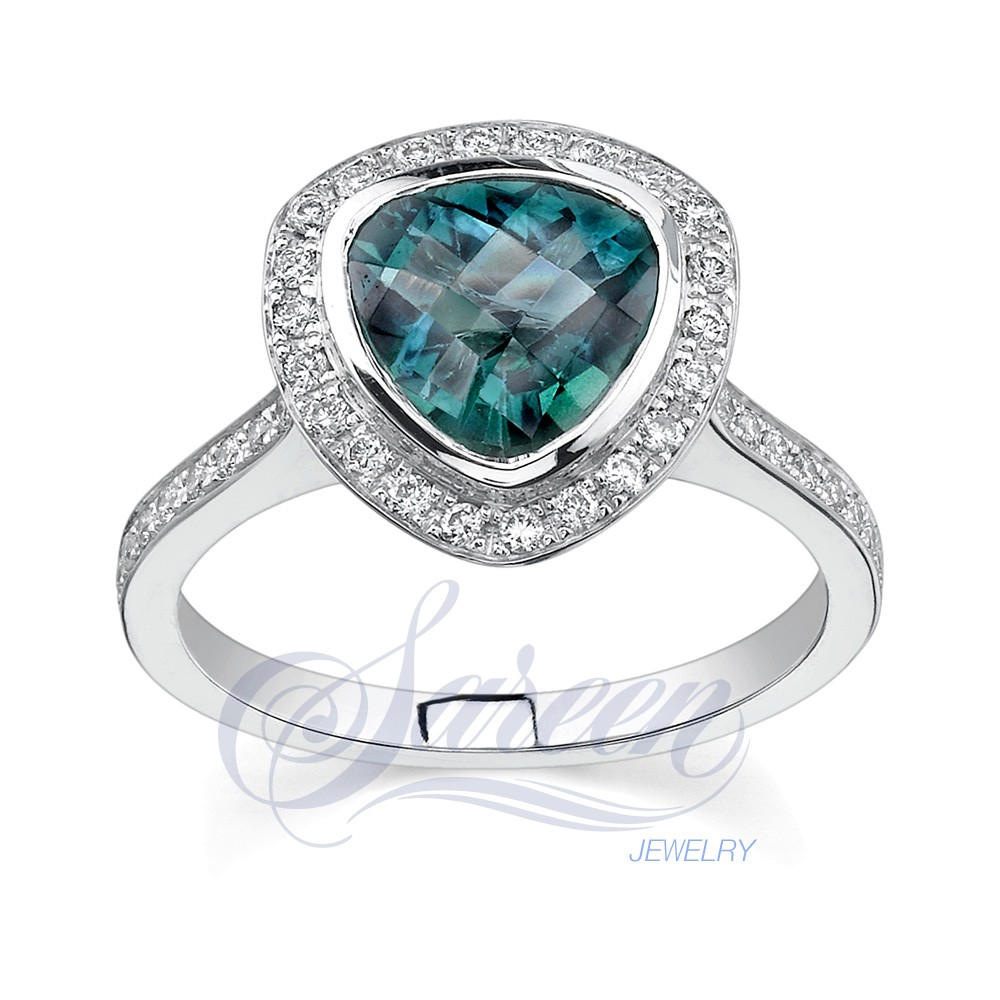 sareen colored ladies diamond ring. Black Bedroom Furniture Sets. Home Design Ideas