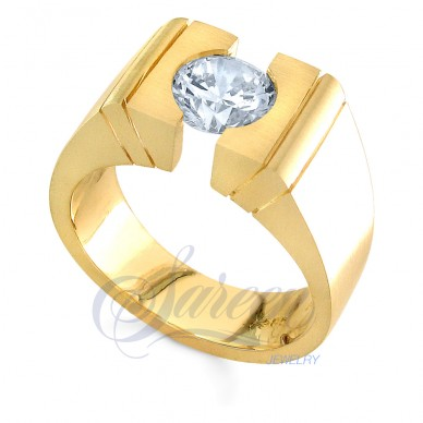 Sareen Men's Tension Diamond Ring