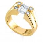 Sareen Men's Tension Diamond Ring