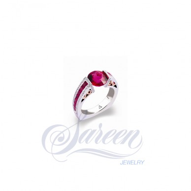 Sareen Tension Colored Ladies Diamond Ring