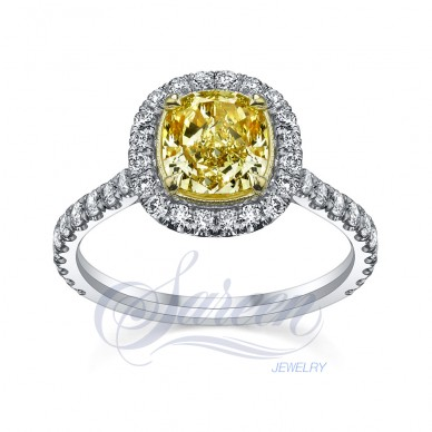 Sareen Royal Cup Ladies Diamond Ring