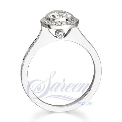 Sareen Bezel  Ladies Diamond Ring