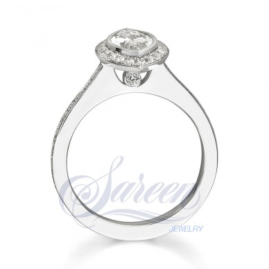Sareen Bezel  Ladies Diamond Ring