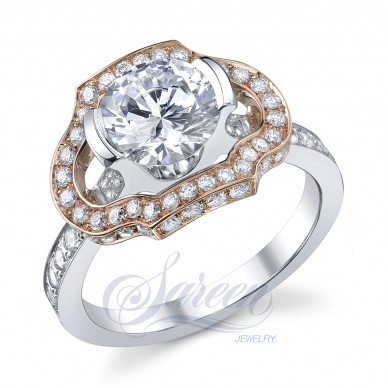 Sareen Papion Collection Ladies Diamond Ring