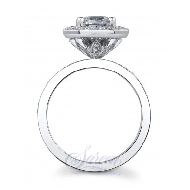 Tulip Ladies Diamond Ring