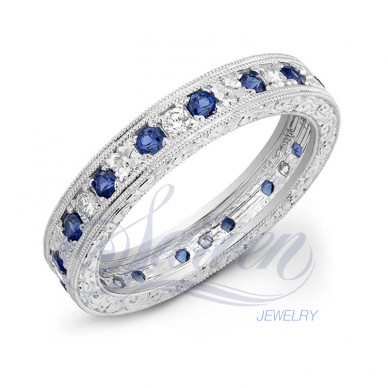 Sareen Vintage Bands Ladies Diamond Ring