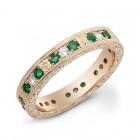Sareen Vintage Bands Ladies Diamond Ring