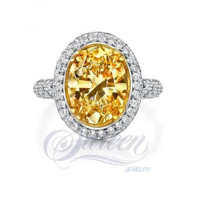 Sareen Royal Cup Ladies Diamond Ring